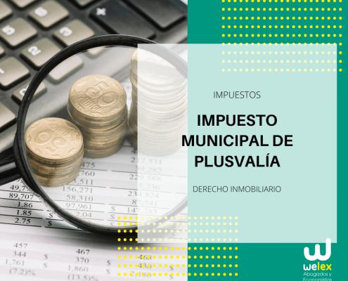 impuesto municipal de plusvalía